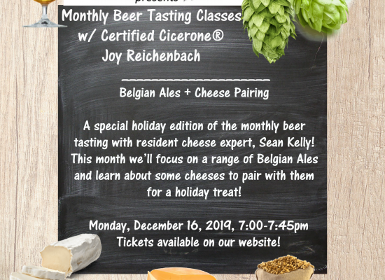Belgian Beer and Cheese